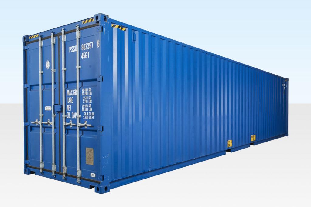 Виды морских контейнеров