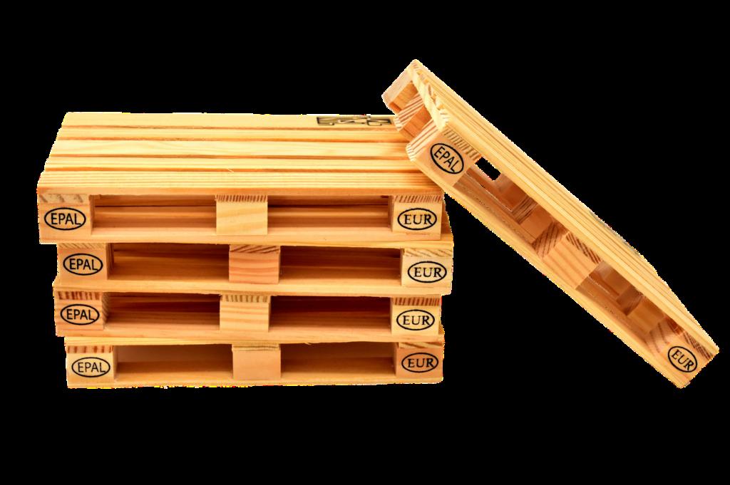 Деревянный паллет