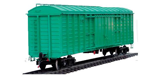 Типы и виды грузовых железнодорожных вагонов